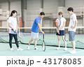 テニス 43178085