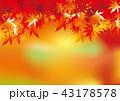 紅葉 もみじ 秋のイラスト 43178578