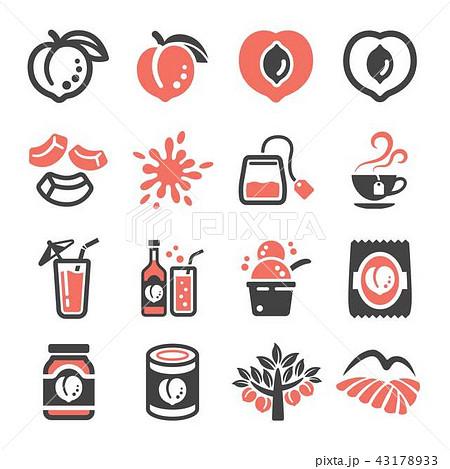 peach icon 43178933