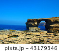 ゴゾ島 アズールウインドウ Azure Window in Gozo 43179346