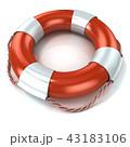 助ける 浮き 山車のイラスト 43183106