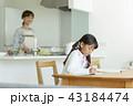 女の子 学習 43184474