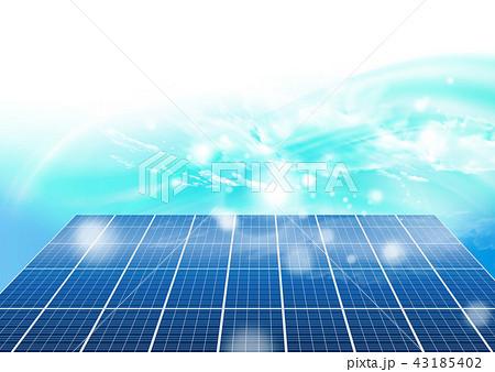 ソーラーパネル 43185402