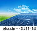 ソーラーパネル 43185438