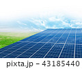 ソーラーパネル 43185440
