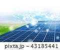 ソーラーパネル 43185441
