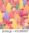 パターン 柄 模様のイラスト 43186007
