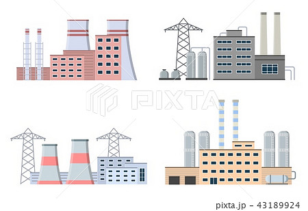 Production industrial factory buildings. 43189924