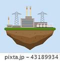 工場 製造所 製油所のイラスト 43189934