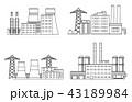 工場 製造所 製油所のイラスト 43189984