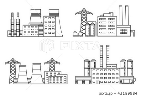 Production industrial factory buildings. 43189984