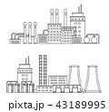 工場 製造所 製油所のイラスト 43189995