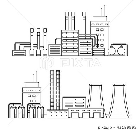 Production industrial factory buildings. 43189995