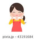 主婦 女性 ベクターのイラスト 43191684