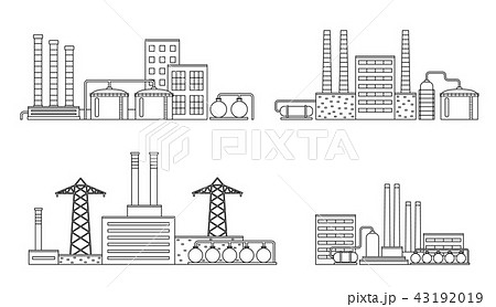 Production industrial factory buildings. 43192019