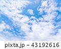 空 快晴 晴天の写真 43192616