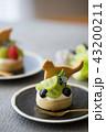 タルト マスカット ケーキの写真 43200211