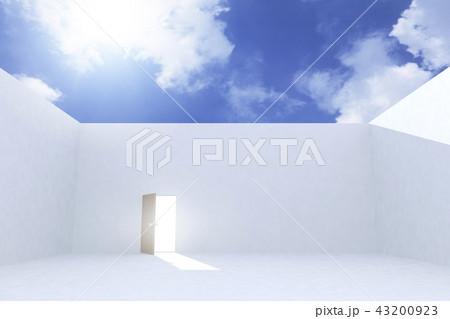 青空とドア 43200923