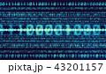 デジタル バイナリコード バイナリーのイラスト 43201157