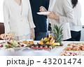 女性 パーティ ビジネスパーティの写真 43201474