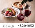 赤ワインと料理 43204052