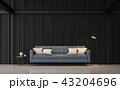 空間 部屋 インテリアのイラスト 43204696