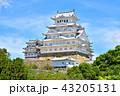 姫路城 白鷺城 世界遺産姫路城 国宝姫路城 日本の風景 43205131