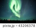 《カナダ ノースウエスト準州》 イエローナイフのオーロラ爆発 43206378