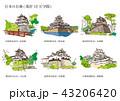 日本のお城(現存12天守閣) 43206420