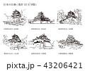 日本のお城(現存12天守閣) 43206421