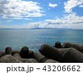 海とテトラポット 43206662