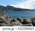 海とテトラポット 43206665