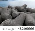 海とテトラポット 43206666