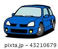 ベクター 自動車 車のイラスト 43210679