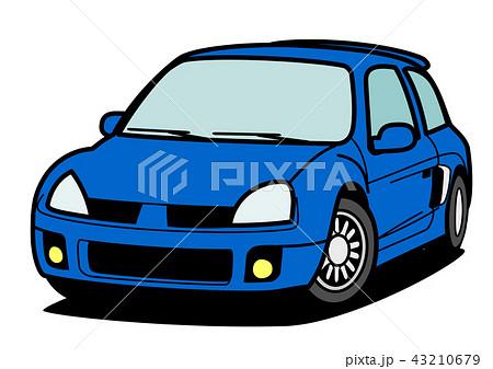フレンチV6スポーツ 青色 43210679