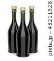 シャンパン シャンペン びんのイラスト 43211628