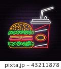 食 料理 食べ物のイラスト 43211878
