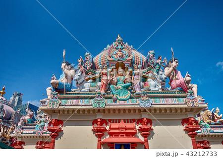 シンガポール スリ・マリアマン寺院  43212733