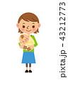 ベクター 赤ちゃん 子育てのイラスト 43212773