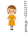 ベクター 人物 笑顔のイラスト 43212777
