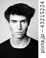 Man with stylish haircut 43215224