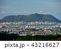 市街地 晴れ 風景の写真 43216627