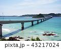 角島大橋 橋 海の写真 43217024