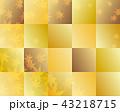 紅葉 秋 背景素材のイラスト 43218715