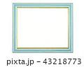 青色の額縁 43218773