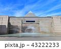 水戸芸術館と噴水 43222233