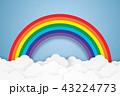 くも 雲 ベクターのイラスト 43224773