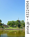 興福寺 五重塔 世界遺産の写真 43224904