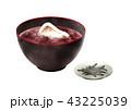 お汁粉 善哉 角餅のイラスト 43225039