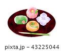 練り切り 和菓子 菓子のイラスト 43225044